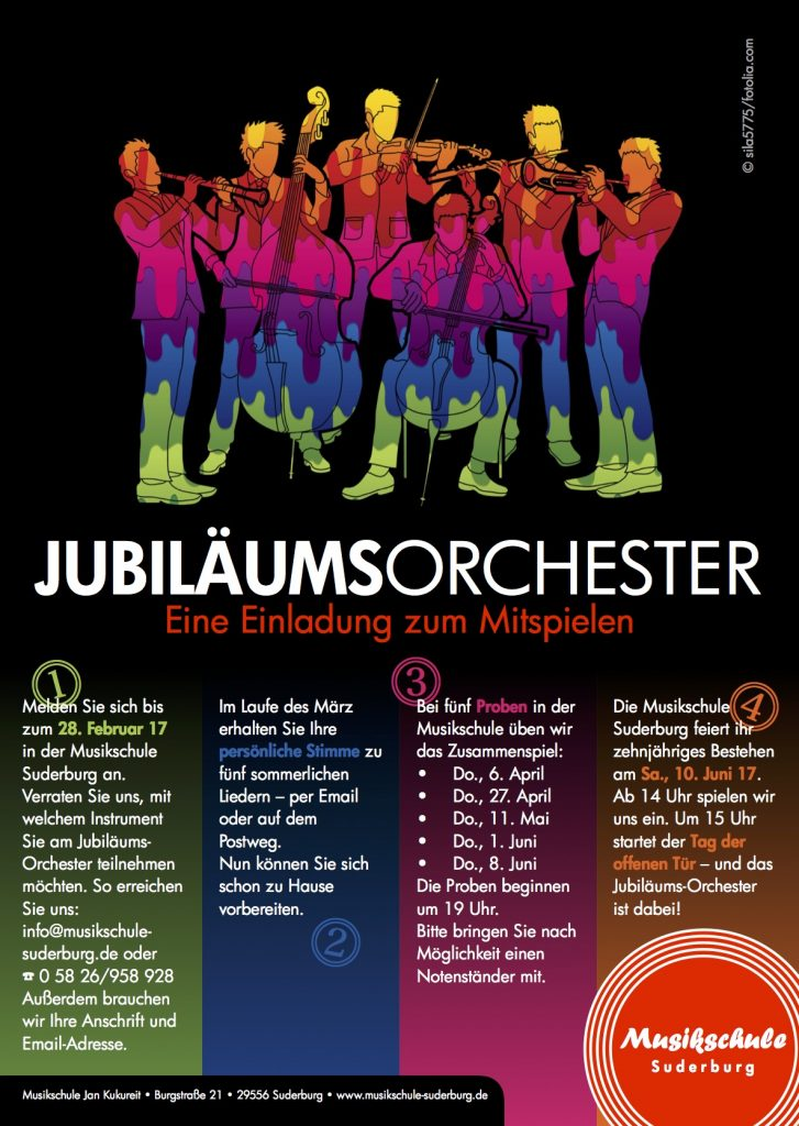 10 Jahre Musikschule Suderburg @ Musikschule Suderburg